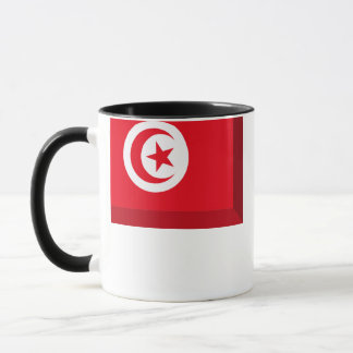 Tunisien flaggajuvel mugg