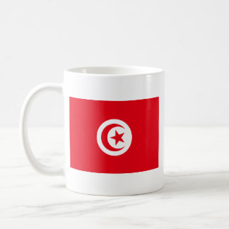 Tunisien flaggamugg kaffemugg