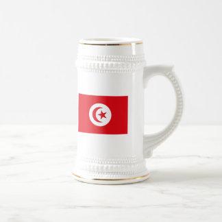 Tunisien flaggamugg sejdel