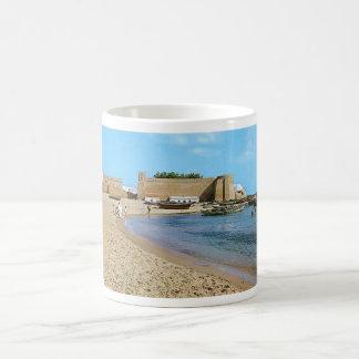 Tunisien Hammamet strand60-tal Kaffemugg
