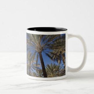Tunisien Sahara öken, Douz, zona Touristique, 2 Två-Tonad Mugg