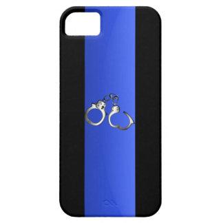 Tunna blålinjen & handbojor iPhone 5 cases