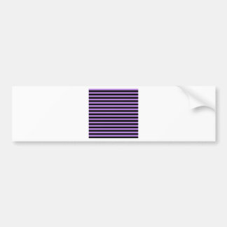 Tunna randar - svart och lavendel bildekal