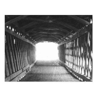 Tunnel av ljust vykort