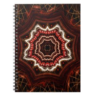 Tunnel av mardrömmar anteckningsbok med spiral