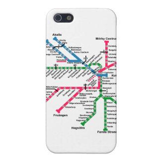 Tunnelbanan iPhone 5 Cases