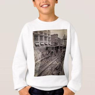 Tunnelbananutgrävning sjunde Ave och 24-25th NYC T-shirts