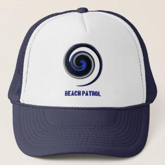 Tunt blålinjenDiv-symbol - strandpatrull Keps