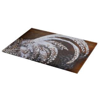 Tupp skärbräda för svanexponeringsglas