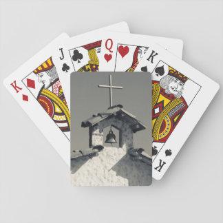 Turist- town, bykapell spelkort