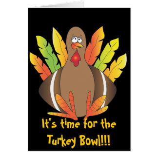 Turkiet bunke hälsningskort