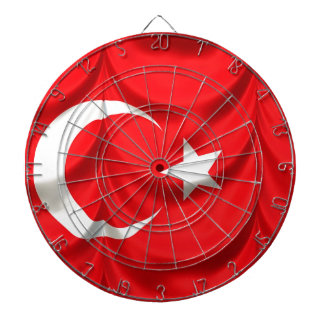 Turkiet flagga piltavla