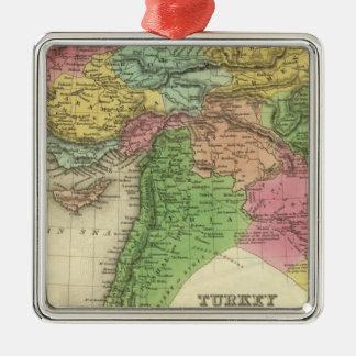 Turkiet i Asien 2 Julgransprydnad Metall