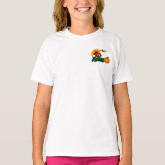 Turkiet och T-tröja för pumpathanksgivinggåva T-shirts