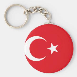 Turkisk pride rund nyckelring