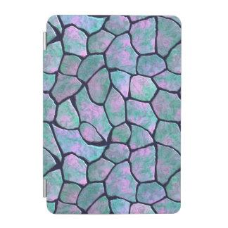 Turkos och seamless mönster för rosamosaikstenar iPad mini skydd