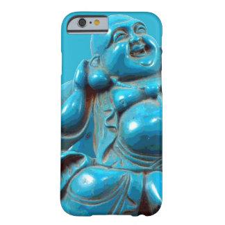 Turkos sned det lyckliga fodral för Buddha Barely There iPhone 6 Skal