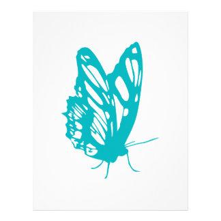 Turkosfjärilsfluga, caterpillar, mönster, insekt brevhuvud