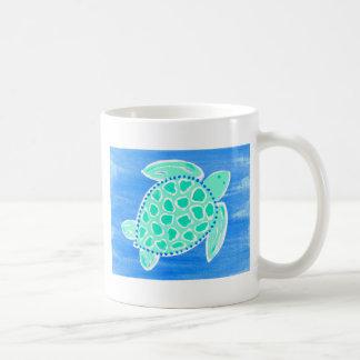 Turkoshavssköldpadda Kaffemugg