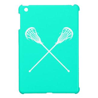 TurkosLacrosse klibbar iPadkortkortfodral iPad Mini Skydd