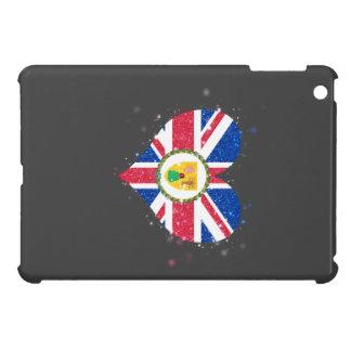 Turks and Caicos Islands sjunker glänsande härligt iPad Mini Mobil Skal