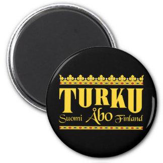 Turku Finland magnet Kylskåpmagneter