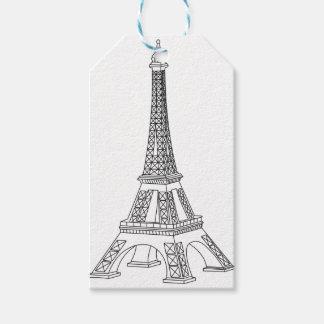 turnera Eiffel Presentetikett