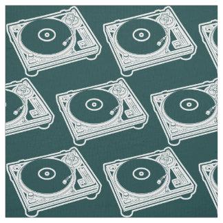Turntable för old schoolvax (vinyl) tyg