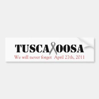 Tuscaloosa med det Houndstooth servicebandet Bildekal