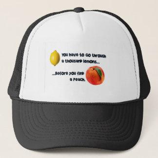 Tusen citroner till en persika keps