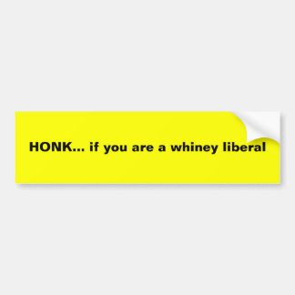 TUTA…, om du är en whiney liberal Bildekal