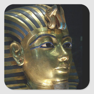 tutankhamun fyrkantigt klistermärke