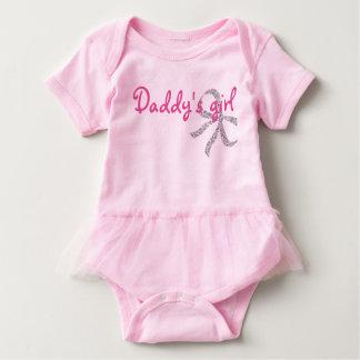 Tutu för bebis för papporflicka gullig tröja