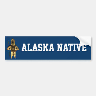 Tuvaaq - Alaska inföding Bildekal