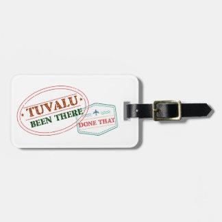 Tuvalu där gjort det bagagebricka