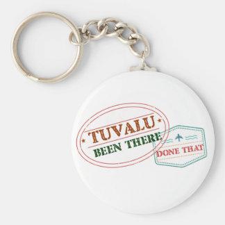 Tuvalu där gjort det rund nyckelring