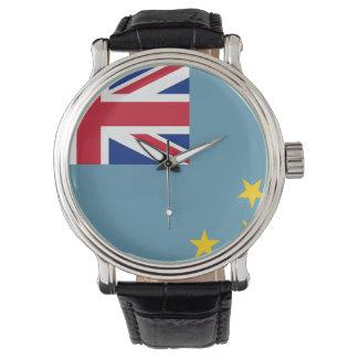 Tuvalu flagga armbandsur