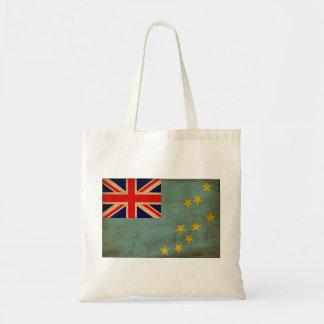 Tuvalu flagga budget tygkasse