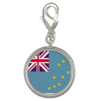 Tuvalu flagga foto berlocker