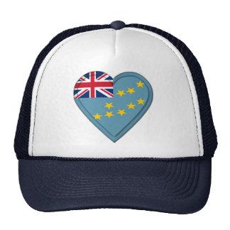 Tuvalu flagga keps
