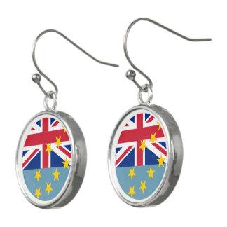 Tuvalu flagga örhängen