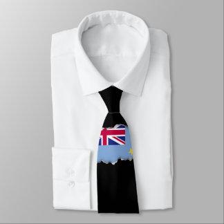 Tuvalu flagga slips