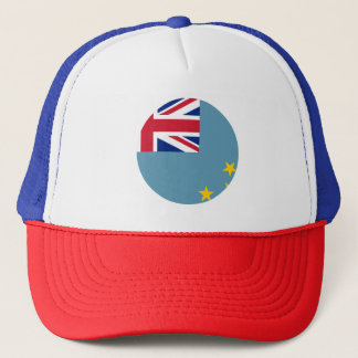 Tuvalu flagga truckerkeps