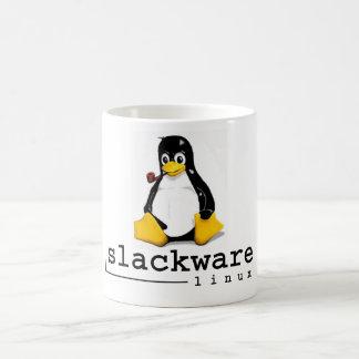 Tux för klassikerSlackware Linux Kaffemugg