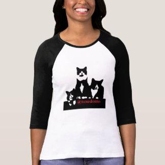 TuxedoTrio kvinna T-tröja Tee Shirt