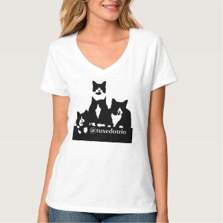 TuxedoTrio kvinna T-tröja Tshirts