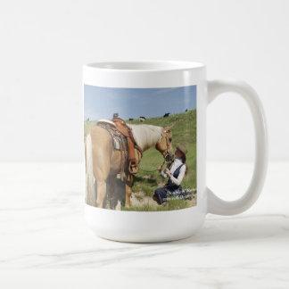 Två av en sort: Ursnygg Palomino & Cowgirl Kaffemugg