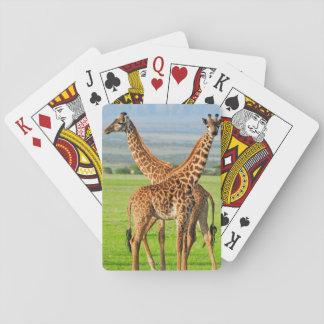 Två giraff casinokort