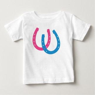 Två hästskor t-shirts