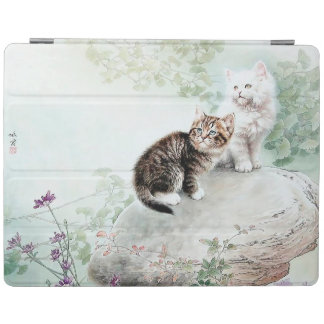Två katter iPad skydd